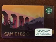 "STARBUCKS Gift Card ""SAN DIEGO: CABRILLO BRIDGE"" 2015 - Mint / No Cash Value"