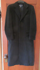 RALPH LAUREN 100% LAINE WOOL COAT JACKET COVER UP WINTER WOMENS JUNIORS BLACK
