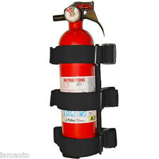 Roll Bar Fire Extinguisher Holder for Jeep Wrangler ( Up to 3.5 lb. )