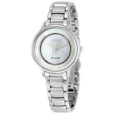 Citizen Circle Of Time Mother of Pearl Dial Ladies Watch EM0380-81D