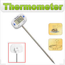 Bratenthermometer weiss LCD -50 +300°C Fleischthermometer Thermometer digital