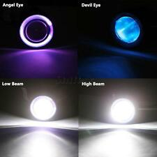 LED Projector CCFL Headlight angel eye&devil eye For Motorcycle Cruiser/Chopper