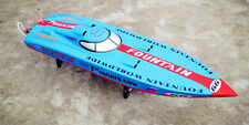 Bare Hull DT G26I P1 26CC Engine Gas RC Racing Boat Model Blue Fiber Glass KIT