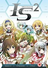 Infinite Stratos Complete Series 2 Collection DVD New & Sealed Region 2 ANIME