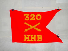flag514 WW 2 US Army Airborne Guide on 320th Field Artillery HHB Battery