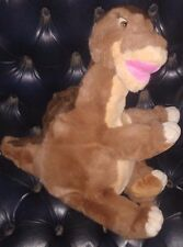 "GUND THE LAND BEFORE TIME 17"" BROWN LITTLE FOOT DINOSAUR PLUSH USED"