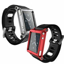 2 Multi-Touch Watch Band Kit Wrist Strap Bracelet For iPod Nano 6 6th 6g