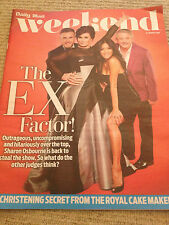 UK WEEKEND MAGAZINE GARY BARLOW TAKE THAT TOM HARDY RUSSELL TOVEY VICKI MICHELLE