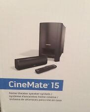 Bose ® CineMate 15 Home Cinema Soundbar Speaker System- RRP 499.99£