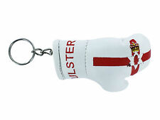 mini boxing gloves keychain keyring key chain leather Flag northern ireland