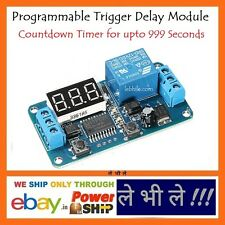 E70 Programmable 12V Trigger Delay Countdown Timer Module Relay Switch 10A Load