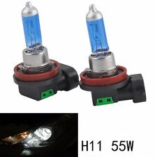 1 Pair 12V 55W H11 Super Bright White Fog Halogen Bulb Car Head Lights Lamp