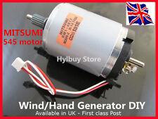 Mitsumi M36N-2 doble eje Dc Motor/mano generadores eólicos