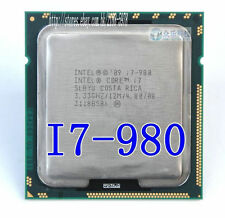 Free shipping Intel Core I7-980 SLBYU 3.33 GHZ / 12M/ 4.80 LGA 1366 Processor