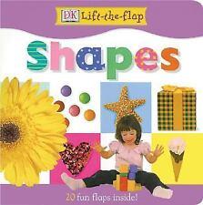 DK Lift the Flap Shapes Board Book Millard, Anne Hardcover