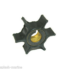 Water Pump Impeller, Replaces Yamaha 6E0-44352-00-00 - F4 / 4hp & 5hp 2-stroke
