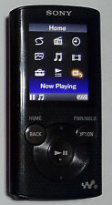Sony NWZE384 8GB Walkman MP3 Video Player - Black - STUCK BUTTONS - Read Details