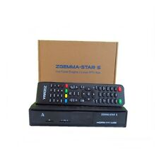 Zgemma Star S Satellite Receiver DVB-S2 IPTV LAN Linux Enigma 2 Genuine Box !