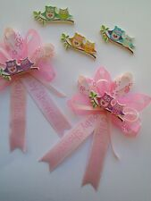25 owl corsage capia baby shower favor party decoration.Only $29.99