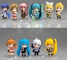 Vocaloid HATSUNE MIKU 10x Cute Minifigure Set: Rin Len Meiko Neru Kaito Haku