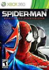 XBOX 360 SPIDER MAN SHATTERED DIMENSIONS BRAND NEW VIDEO GAME