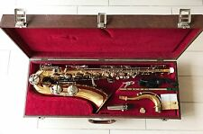 Vintage German Tenor Saxophone B&S - SONORA honey lacquer+whistle-mint condition