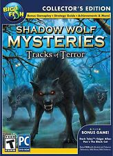 Shadow Wolf Mysteries TRACKS OF TERROR Hidden Object CE PC Game NEW Bonus