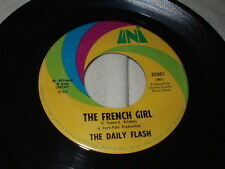 THE DAILY FLASH Green Rocky Road/The French Girl 45 Uni Psych Sixties