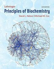 Lehninger Principles of Biochemistry by Michael M. Cox and David L. Nelson...