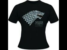 Game Of Thrones Ladies T-shirt Winter Is Coming Size S Tshirt T Shirt