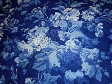Rare Ralph Lauren Staffordshire Floral Twin Comforter Blue White Roses 2 AVL