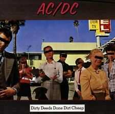 Ac/Dc : Dirty deeds done dirt cheap CD