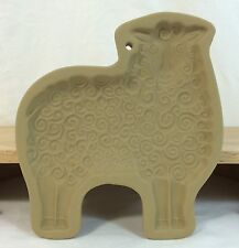 BROWN BAG Cookie Art Shortbread Mold 1985 SHEEP Lamb Retired EX!