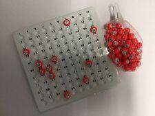 Bingo/Raffle Check Tray AND Bingo Balls 1-100  Bingo Cage Machine Alternative