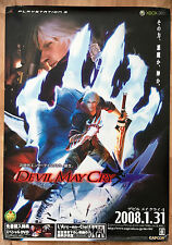 Devil May Cry 4 Raro Ps4 Xbox One 51,5 cm X 73cm Japonesa Promo Poster # 2