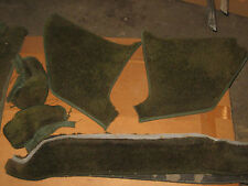 1964, 1965 Lincoln Continental Carpet Dark Green Set by Jim Wallace