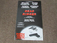 Sylvia SIMS in DEAD Ringer New Thriller by Francis DUKE of YORK's Theatre Poster
