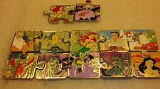 Disney pins LE Connection Mystery Puzzle 12 pins The Little Mermaid & Chasers