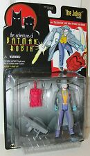 Adventures of Batman & Robin - Joker w/Machine Gun & Time Bomb - Kenner 1997