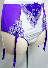 Victorias Secret Garter Size Medium Very Sexy Neon Purple High Waist Thong Under