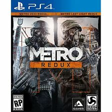 PS4 Games Metro Redux [2 In 1] Brand New & Sealed