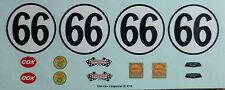 Repro 1/24 Cox Chaparral 2E RTR Waterslide Decal Set(Your Choice of #65 or #66 )