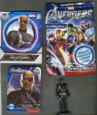 "PREZIOSI COLLECTION: ""Marvel AVENGERS"" (3D + Fanbuk + Card) ""NICH FURY"""