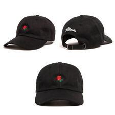 New The Hundreds ROSE snapback hat Baseball Cap Drake Yeezy Black  colors
