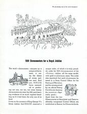 1948 Rolex 500 Chronometers for a Royal Jubilee Rolex Always Leads Swiss Advert