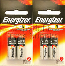 4 ENERGIZER N LR1 MN9100 AM5 E90 N 910A 1.5V Batteries