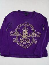 Ralph Lauren Girls Long Sleeve  Top T-Shirt size M (8-10) New