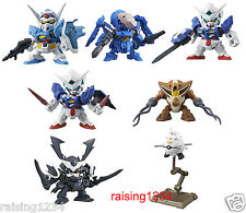 BANDAI SD Gundam Next 23 Gashapon Figure (Set 7 pcs) Exia Susanowo G-self