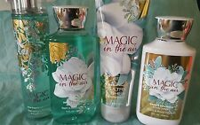BATH AND BODY WORKS MAGIC IN THE AIR COLLECTION **2016**NEW
