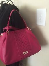 Cole Haan Ripley Crossbody /convertible Sachel Leather handbag Electra NWT $298